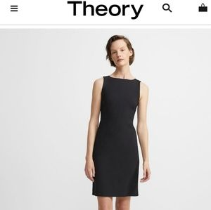 Theory wool dress